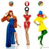 honlapkészítés és webáruház készítés keresőoptimalizálással | Milyenek lennének a böngészők, ha hölgyek lennének?